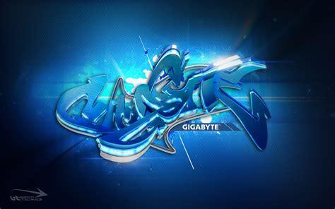 wallpaper graffiti blue gigabyte overclocking wallpaper 3d graffiti graffiti