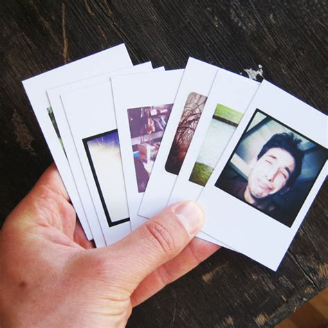 instagram picture books a tiny book for your instagram photos designtaxi