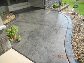 Stamped Patio Designs by 25 Best Ideas About Concrete Texture Seamless On