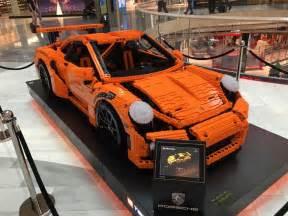 Porsche Lego Epic Sized Porsche 911 Gt3 Rs Lego Car In Sweden