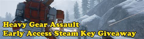 Steam Keys Giveaway - ended heavy gear assault early access steam key giveaway mmos com