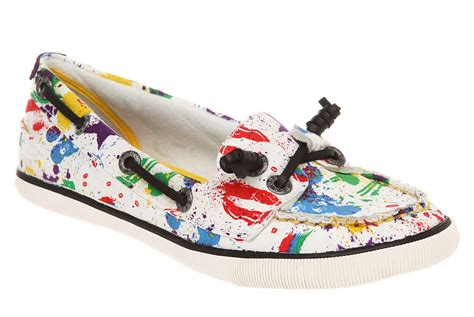 dog boat clothes rocket dog preppy boat shoe white explosion canvas flat ebay