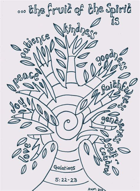 Holy Spirit Coloring Pages For Children by Creative Children S Ministry Fruit Of The Spirit