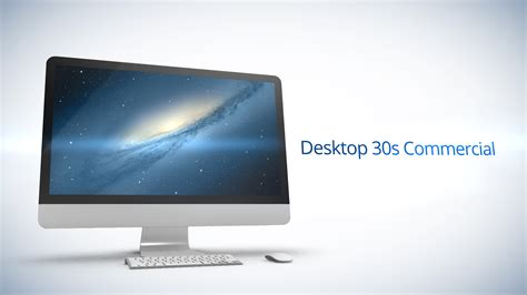 Desktop 30s Commercial After Effects Template After Effects Commercial Template
