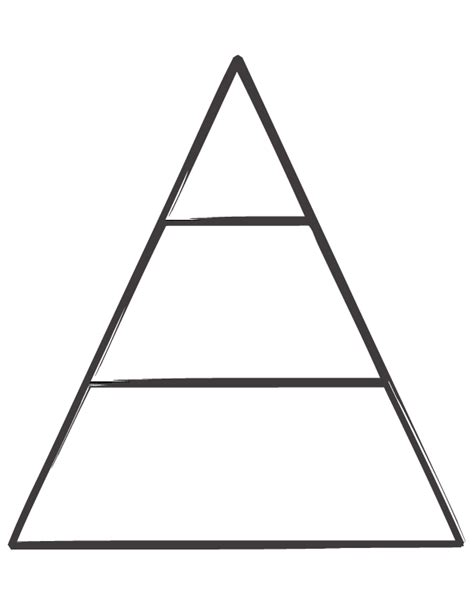 Blank Food Pyramid Template by 6 Best Images Of Blank Energy Pyramid Worksheet Blank