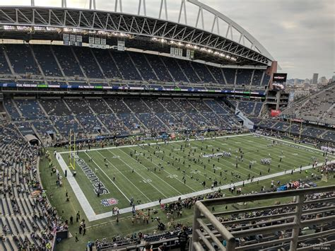 what sections are covered at centurylink field 88 what sections are covered at centurylink field