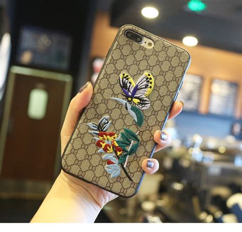 Iphone 7 Donald Duck Pattern Hardcase buy wholesale gucci pattern embroidery bee flower leather back cover for iphone 7