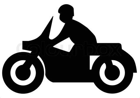 Motorrad Silhouette by Motorrad Silhouette Vektorgrafik Colourbox