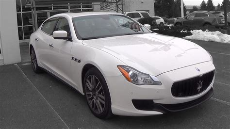 maserati quattroporte 2015 2015 maserati quattroporte s q4 review youtube