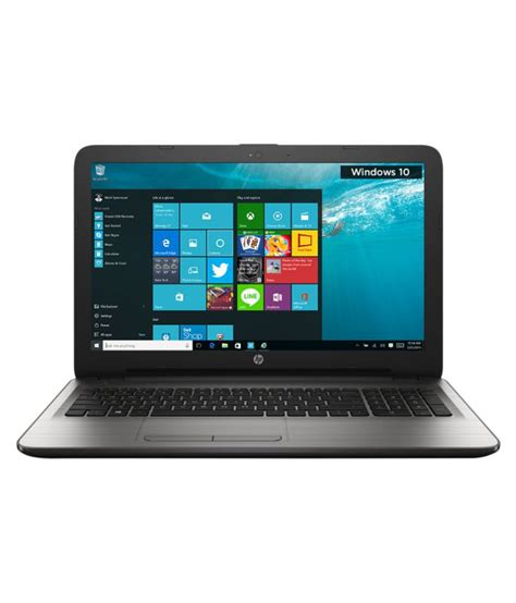Notebook Hp15 Bw070ax Silver hp 15 ay503tu notebook 6th intel i5 4gb ram 1tb hdd 39 62 cm 15 6 windows 10