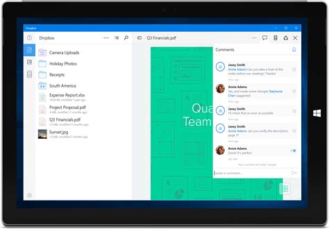 dropbox windows 10 the universal dropbox app for windows 10 is rolling out