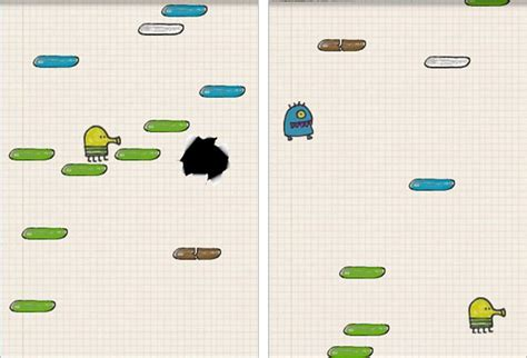 doodle jump enemies doodle jump review iphone review