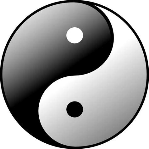 yin  clip art  clkercom vector clip art