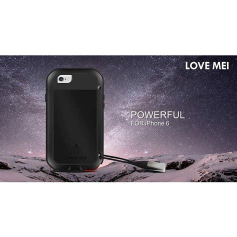 Mei Powerful Bumper For Iphone 6 Plus Original Bagus mei powerful aluminium bumper for iphone 6 silver jakartanotebook