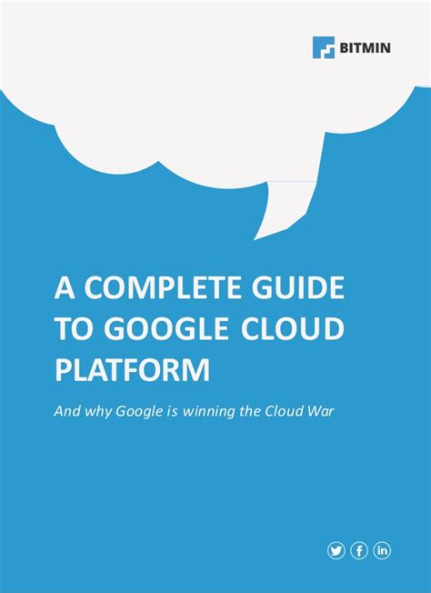 a complete guide to a complete guide to the google cloud platform