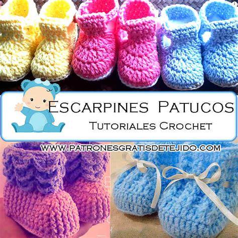 modelo de tejido para ninos aprender manualidades es facilisimo zapatitos crochet para beb 233 s 3 tutoriales en espa 241 ol