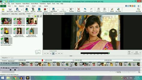 videopad transitions tutorial transition effects video editing video pad youtube