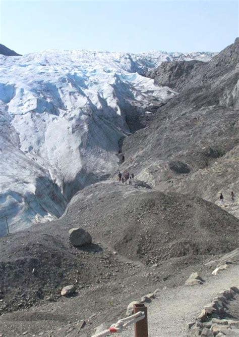 exit glacier guided walking  alaska collection