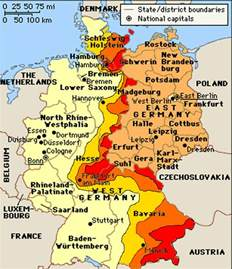 West Germany Map by Pics Photos Funny Pictures East And West Germany Map