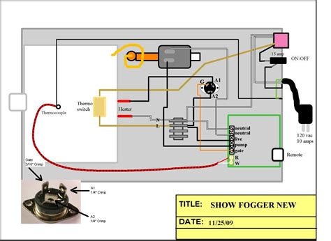 the fog machine wiring diagram alert smoke alarm