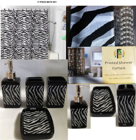 zebra bathroom ideas zazzling zebra print bathroom decor xpressionportal