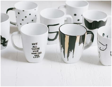 coffee mug ideas the simplest diy coffee mugs