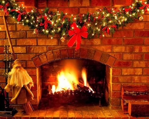images of christmas fireplaces christmas fireplace wallpaper wallpapers9