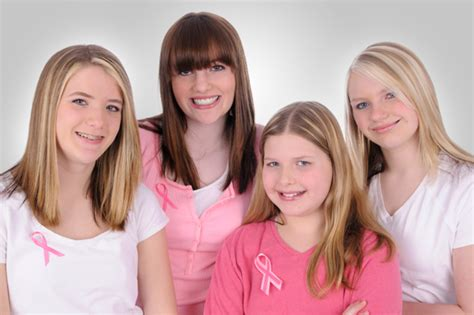 small tween breast teach your daughter about breast cancer