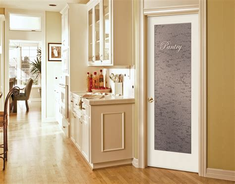 cool single swing white frozzen pantry door  wooden