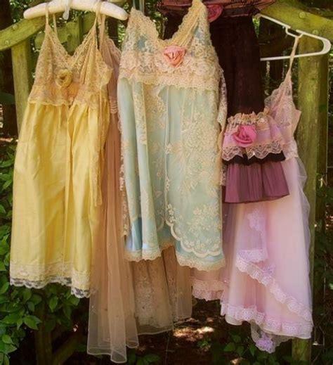 Pastel Vintage Nighties And Slips Beautiful Group One Shabby Chic Pajamas