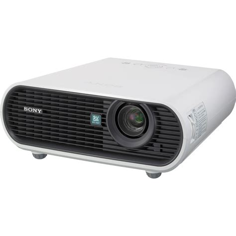 sony vpl es7 data projector vpl es7 b h photo