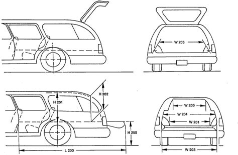 car dimensions in feet image gallery car measurements