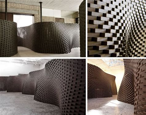 robotic wall can you curve a brick wall the design critic