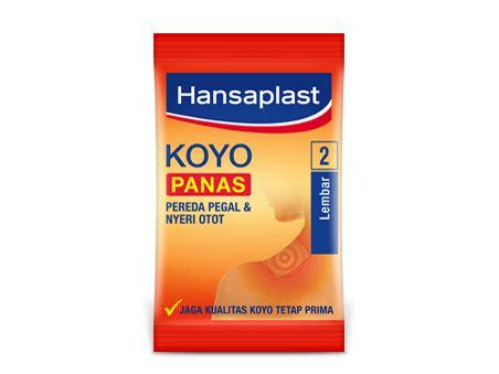 Hansapalst Koyo Panas hansaplast heat plaster 11mg relief with soothing heat
