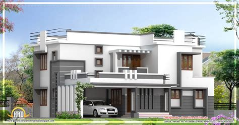 contemporary style house in 2300 square feet kerala home contemporary 2 story kerala home design 2400 sq ft