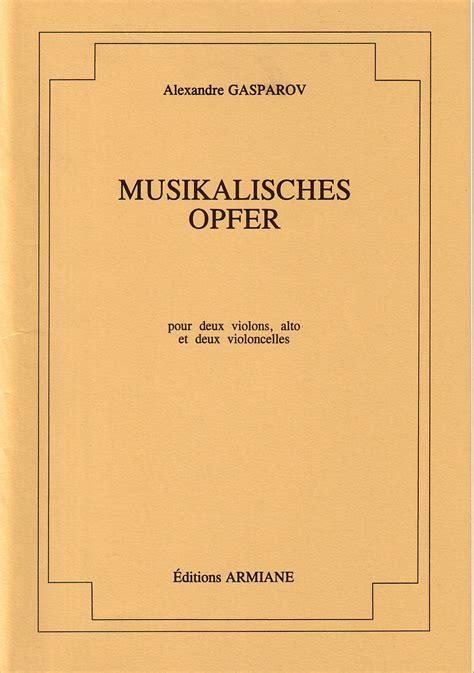 musikalisches opfer musikalisches opfer solution ecommerce peel
