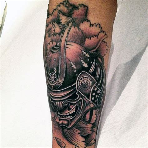 mask tattoos for men 100 japanese samurai mask designs for forearm