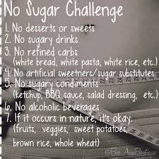 20 Day Sugar Detox Challenge by No Sugar Challenge Whole 30 Sugaring