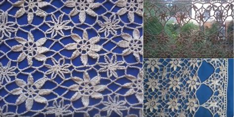 crochet curtains pattern lace curtain in crochet lace free pattern video