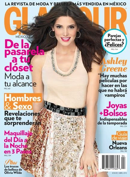 ashley greene magazine cover ashley greene on cover of glamour magazine mexico