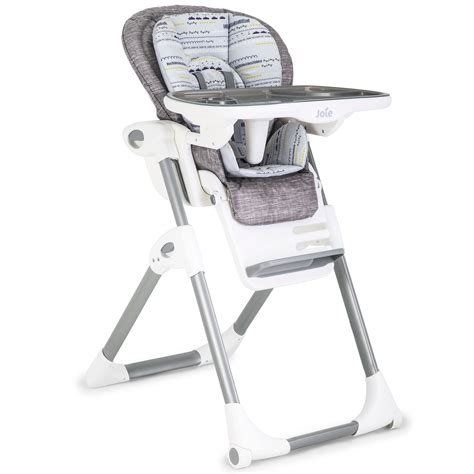 Baby High Chair by Joie Mimzy Lx Baby Toddler Child Feeding Adjustable