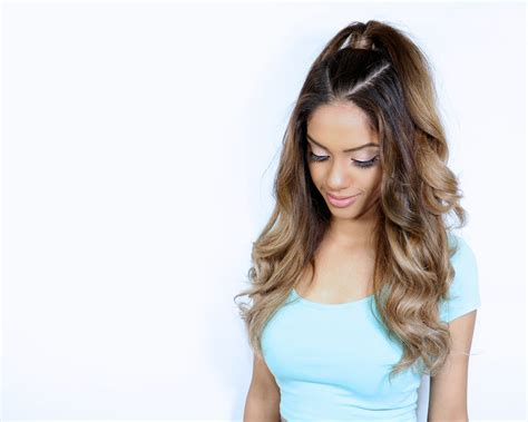 how to do grande hairstyles the ariana grande inspired half up ponytail tutorial hot