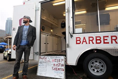 Mobile Haircuts Austin | mobile barbershop keeps austin sheared the daily texan