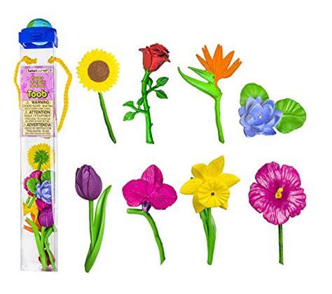 safari ltd flowers toob import it all