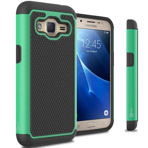 for samsung galaxy j2 2016 tough protective hybrid phone cover ebay
