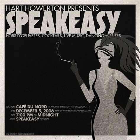 31 Best Speakeasy Party Images On Pinterest Chandeliers Craft And Good Ideas Speakeasy Invitation Template