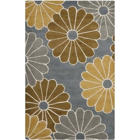 yellow accent rug safavieh soho accent rug in grey yellow soh705a 24