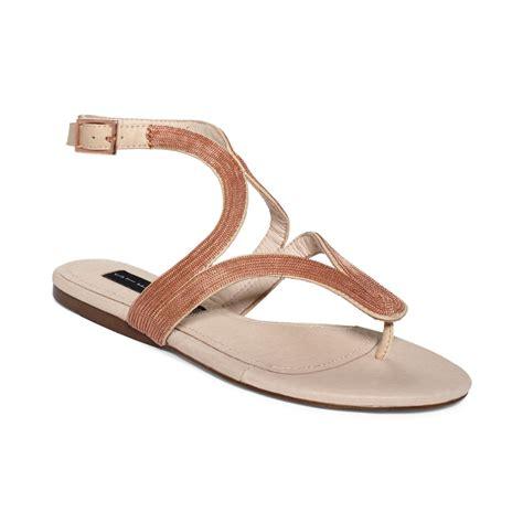 blush sandals steven by steve madden resorts flat sandals in pink