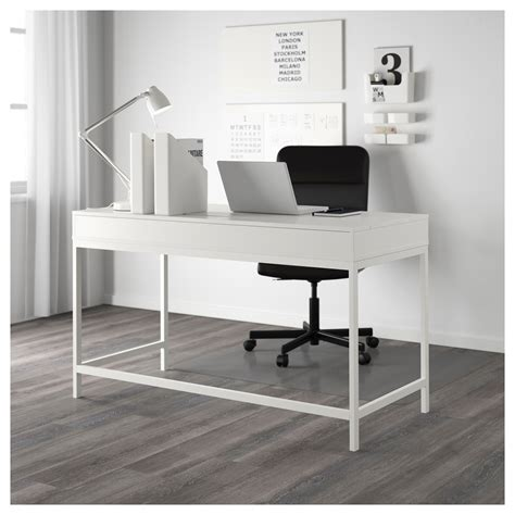 white office desk ikea alex desk white 131x60 cm ikea