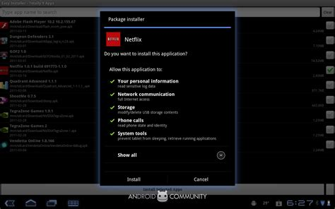 netflix for android apk netflix for android apk screenshots surface now with 100 more xoom android community